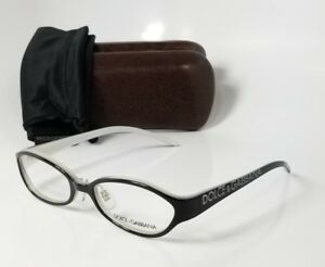 NEW DOLCE GABBANA DG685 black reading glasses computer readers eyeglass frames