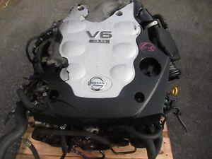 JDM Nissan 350z VQ35DE 3.5L V6 Engine Automatic Infiniti G35 2003-2004 VQ35