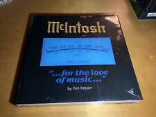 """New McIntosh """"for the love of music"""" Book by Ken Kessler sealed"""