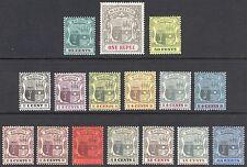 Mauritius 1900 1c - 1r Arms SG 138-153 Scott 92-124* LMM/MLH Cat £215($268)