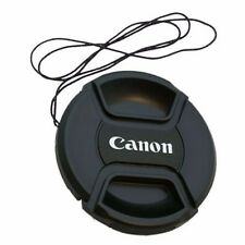 77mm Snap On Front Lens Cap Cover Center Pinch with String for Canon EOS Camera