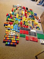 Beautiful Set Of Duplo Blocks.  Look At All The Nice Pieces! 310 Pieces.