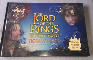 LOTR The Two Tower Jigsaw Book Large by Five Mile (Mixed media product, 2003)