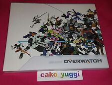 BLIZZARD OVERWATCH COLLECTORS EDITION VISUAL SOURCE ART BOOK ORIGINAL 175 PAGES