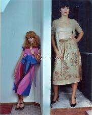 Org Amateur Semi Nude Large (8 x 10) Photo- Funhouse- Skirt- Stockings- #1
