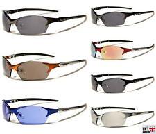 XLoop UV400 Mens Wrap Around Sunglasses