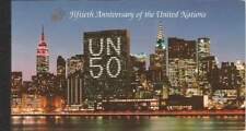 United Nations - New York booklet MNH 1995 PB 1 - UN 50 Years