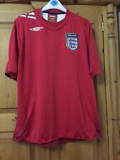 England 2006-2008 Football shirt for men size L umbro