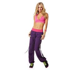 ZUMBA Craveworthy Berry Nice Purple Cargo pants Extra Small XS _ZE