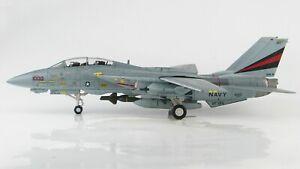 Hobby Master 1:72 US Navy (USN) F-14A Tomcat VF-154 'Black Knights' 161621