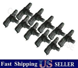 Lot of 10 Engine Camshaft Position Sensor - GM OEM 12608424 Bosch 12608424