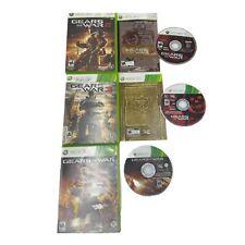 Gears of War 2, 3, & Judgement Bundle Lot (Microsoft Xbox 360) FAST SHIPPING