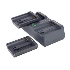 MH26A Dual Sequential Fast Charger For Nikon EN-EL18 EL4 Canon LP-E4 E19 Battery