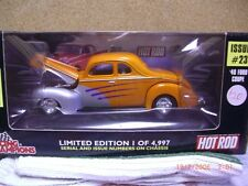 1/24 racing champions 40 ford coupe in orange & silver