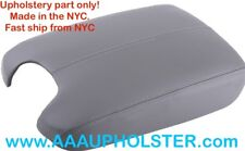 PU Leather Grey Console Lid Center Box Armrest Cover for Accord Honda 2008-2012