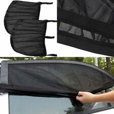 2 Pcs Car Window Shades Blocks UV Rays Covers Rear Side Windows Car Sun Shades