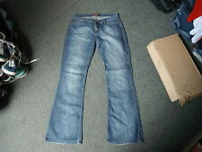 "Blend She Bootcut Jeans Waist 33"" Leg 34"" Faded Dark Blue Ladies Jeans"