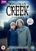 Jonathan Creek: Daemons' Roost DVD (2017) Alan Davies cert 15 ***NEW***