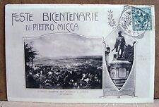 Feste bicentenarie di Pietro Micca [piccola, b/n, viaggiata]