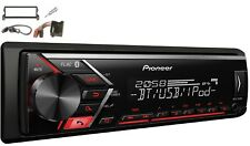 Pionero mvh-s300bt USB BLUETOOTH MP3 RDS AUX SET MONTAJE PARA BMW Mini Cooper