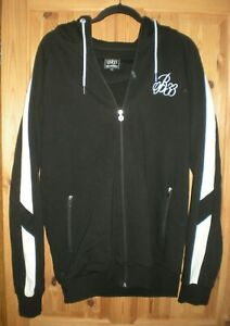 Bee Inspired Tracksuit Set Black w/ White Accents, zip Hoodie XXL, bottoms XL VG