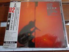 U2 - UNDER A BLOOD RED SKY - LIVE - CD ORIGINAL PRESS JAPAN - OBI + INSERT
