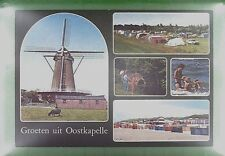 CPA Holland Oostkapelle Windmill Moulin Windmühle Molin Mole Mill Wiatrak w384