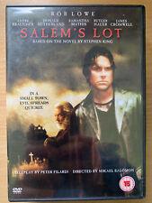 Salem's Lot DVD 2004 Stephen King Vampire Horror Mini Series Remake w/ Rob Lowe