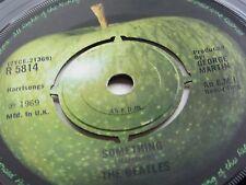 THE BEATLES ORIGINAL 1969 UK 45  SOMETHING  RARER  LAYERED CENTRE LABEL