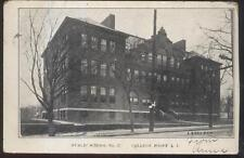 Postcard College Point/Li New York/Ny Public School #27 Campus Building 1906