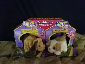 Furreal Double the Snuggle Value 2 pack Snuggimals Animated *FREE SHIPPING*