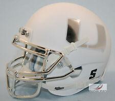 MIAMI HURRICANES (WHITE/CHROME MASK) Schutt XP Mini Helmet