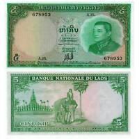 Pick 9b Laos 5 Kip 1962 Unc.(stains) / 2510678vvv
