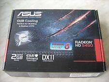 ASUS Radeon HD5450-SL-2GD3-L 2GB DVI HDMI D-Sub Silent graphics video card low