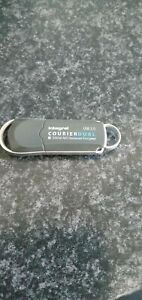 Integral Courier Dual 8GB USB Drive with Encryption