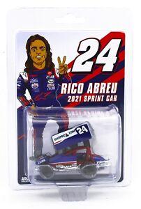 1:64 Round2 *RICO ABREU* 2021 SHOPRICO.COM #24 Sprint Car *NIP*