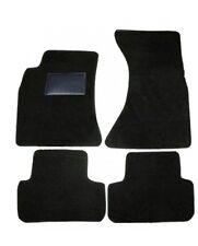 TAPPETINI tappeti auto su misura FIAT panda 2°serie (2003-2012) neri con battita