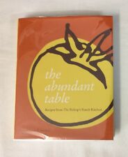 The Abundant Table Recipes from Bishops Ranch Kitchen by Ariel Ross HC-VG SIGNED