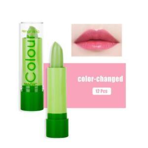 12x Etanche Rouge à Lèvre Magique Couleur Changeant  à Lèvres Lipstick