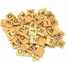 Wooden Scrabble Customise Choice Tiles Letters Number 5,10,20 Wholesale Price UK