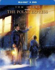 The Polar Express Steelbook Blu-ray DVD Tom Hanks Robert Zemeckis Fast Ship