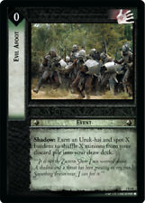 LOTR: Evil Afoot - Foil [Moderately Played] Mines of Moria Lord of the Rings TCG