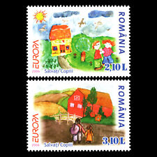"Romania 2006 - EUROPA Stamps ""I. through the Eyes of Young People"" - Sc 4818 MNH"
