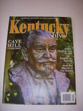 KENTUCKY MONTHLY Magazine, October 2013, JOHN CARPENTER - HALLOWEEN, CAVE HILL!
