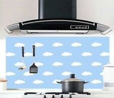 Cloudy Kitchen Wallpaper Home Decor Oil-proof Stickers
