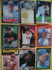 Baseball Cards Lots - All Hall of Famers...Take a LOOK!!!
