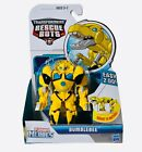 Transformers Rescue Bots Playskool Hero Roar & Rescue Bumblebee Robot to Raptor