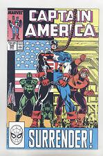 Captain America #345 NM+ Frenz, Milgrom, Falcon, D-Man
