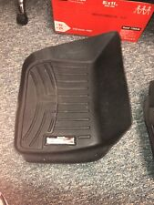 WeatherTech Floor Mats FloorLiner for Fusion/MKZ- 2013-2016 - 1st Row - Black