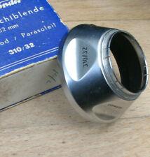 32mm push fit chrome  Voigtlander lens hood used slip on shade